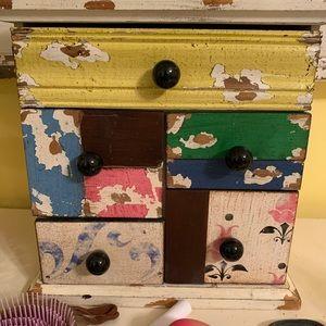 ‼️PRICE FIRM‼️Colorful jewelry box